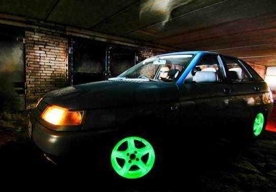 Автотюнинг светящийся в темноте - как на этом заработать
