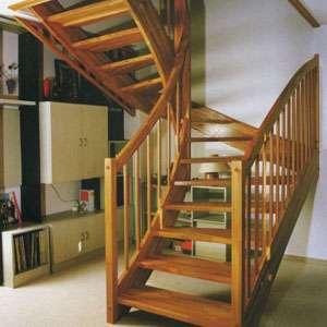 Услуги по изготовлению лестниц для дома