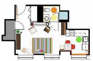 Интернет планировка квартир посредством своего сайта