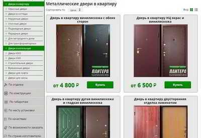 Бизнес идея - магазин по продаже дверей